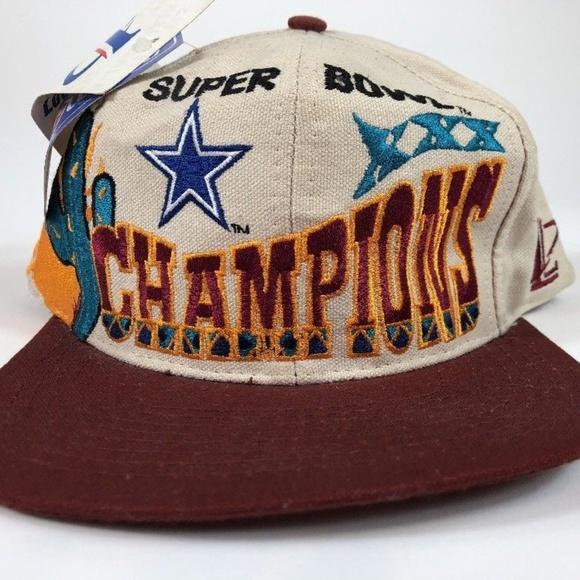 VTG 90 s Super Bowl XXX Dallas Cowboys Snapback 6ac25b194197